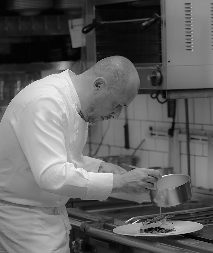 chef Christophe Mertes au VO à Reims